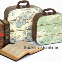 Baúles y Maletines